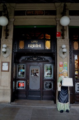 Cafe Irúna, one of Hemingway's haunts