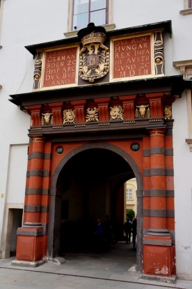 Swiss Gate Near the Treasury