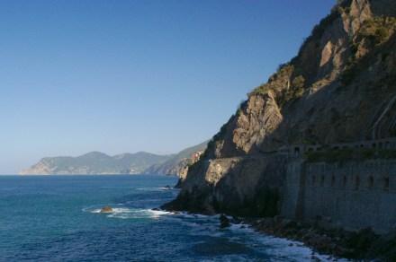 On Via dell'Amore N of Riomaggiore