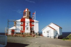 We visited the Bonavista Lighthouse