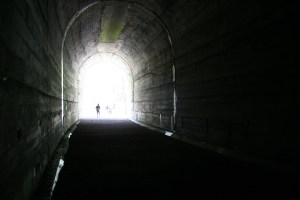 There is always a sliver lining, or a light at the end of the tunnel. Image by  xololounge.