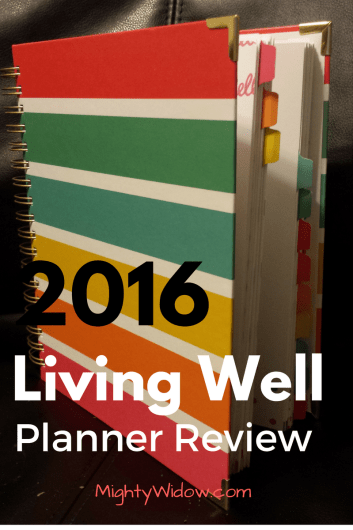 2016 Living Well Planner Graphic