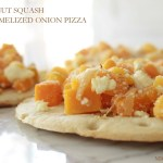 Butternut Squash and Carmelized Onion Pizza