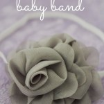 5 Minute No-Sew Baby Band