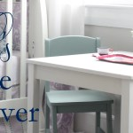 Elle's Table Makeover
