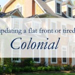 Updating a Dated Colonial Exterior