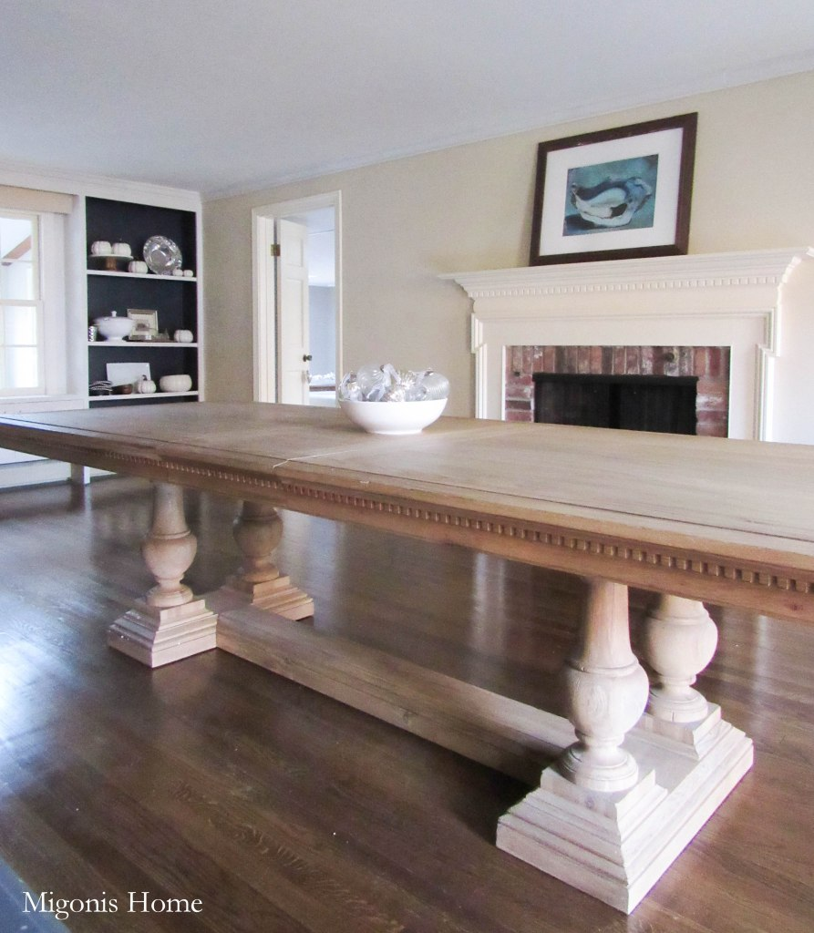 Restoration hardware dining room table