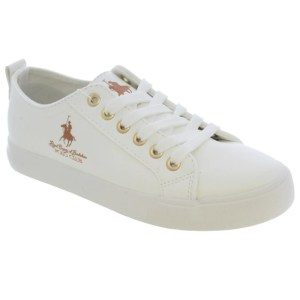 Tenis Beverly Hills Polo Club 6737 Blanca con Rosegold