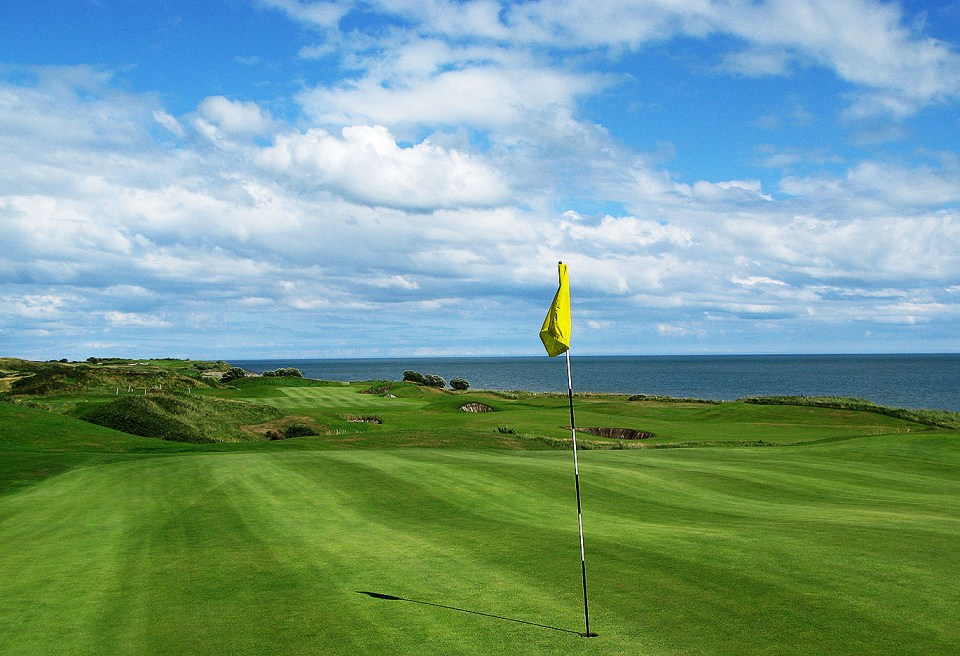 Pat Ruddy has given Britta's Bay a Mona Lisa of golf. The European is a true masterpiece; a real links course between the dunes along the beach. Photo: Margaret Kallevig