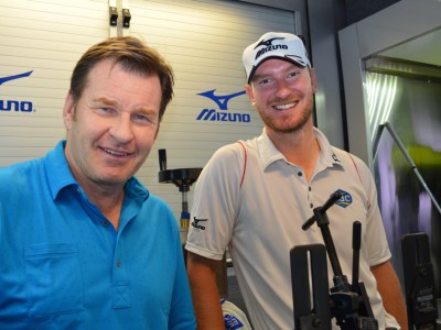 Sir Nick Faldo Chris Wood