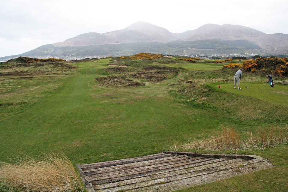 Royal County Down is a great track. But maybe not for the inexperienced golfer on his first golfing trip.