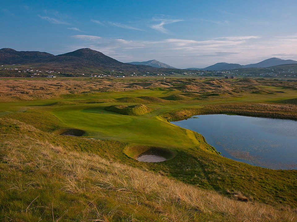 Pat Ruddy and Tom Craddock have created the masterpiece Glashedy links, which is quite different from the old course.