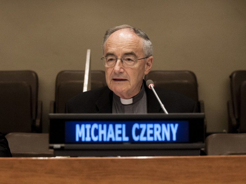 Undersecretary speaks at UN side event