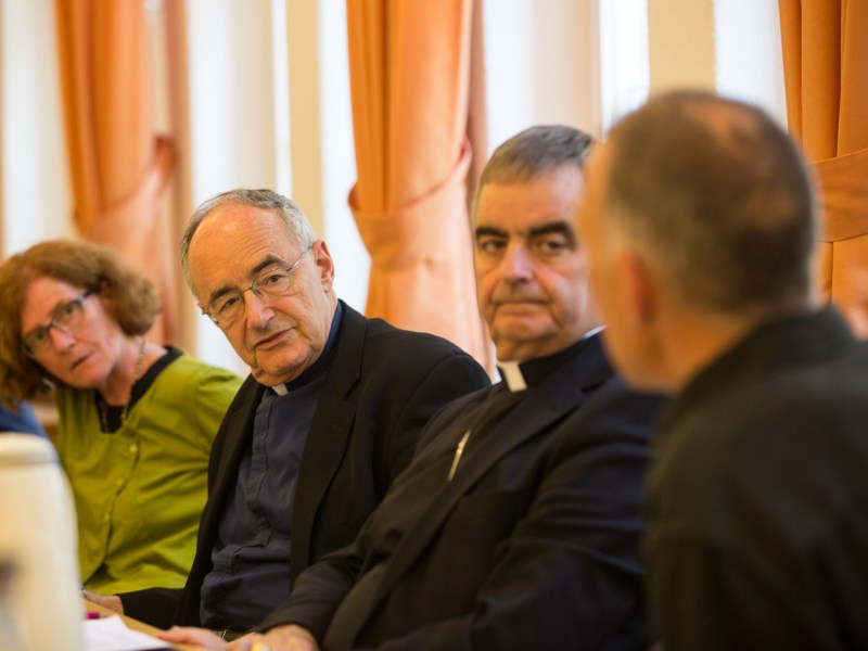 Father Michael Czerny, SJ, at the Global forum on Migration and Development
