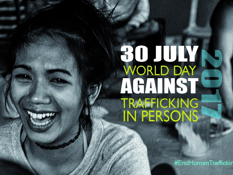 Statement – World Day Against Trafficking In Persons