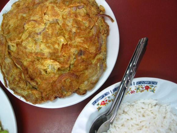 Image result for kai jeow moo sab with rice