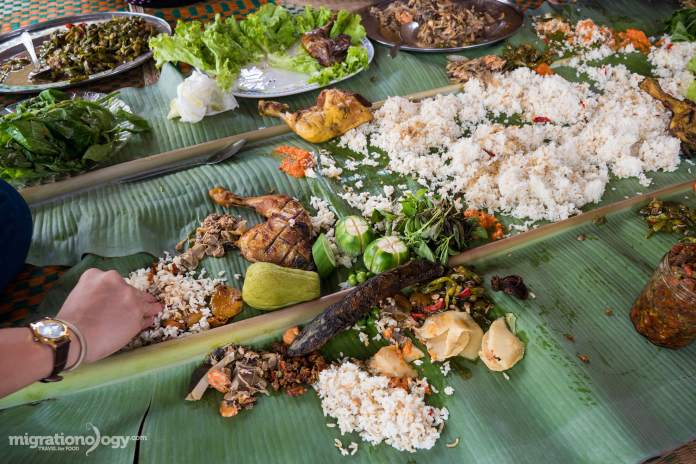 Traditional Food Of Bali Indonesia