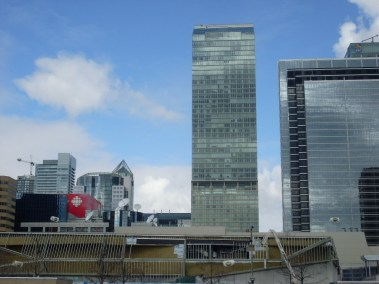 En rouge : le CBC Centre