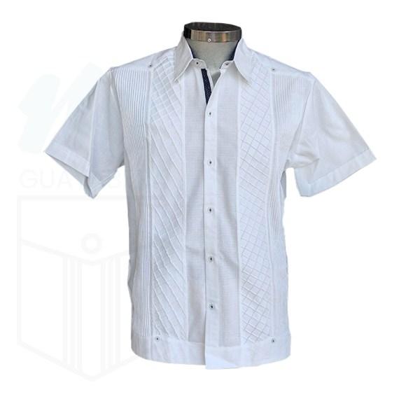 Guayabera Camisa Panal Blanca