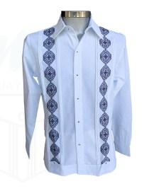 Guayabera bordada blanca chen