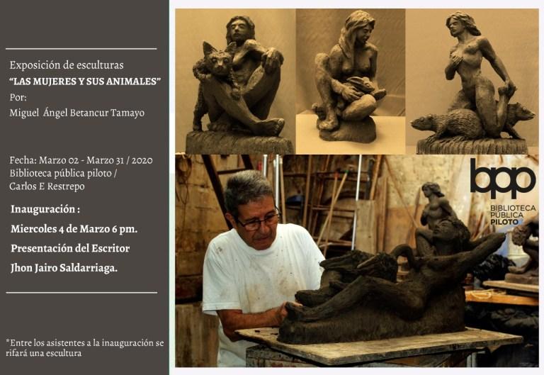 Historia Artistica Miguel Ángel Betancur T. Escultor 32