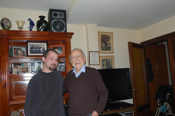 Con Santiago Carrillo