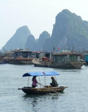 Baie de Tu Long, Cam Pha (Vietnam nord)
