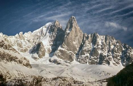 Aiguille Verte et les Drus (Chamonix)