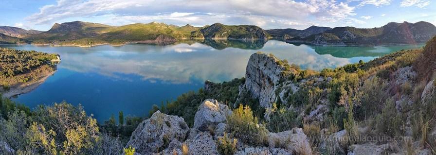 Le Lac de Santa Ana, côté Baldellou