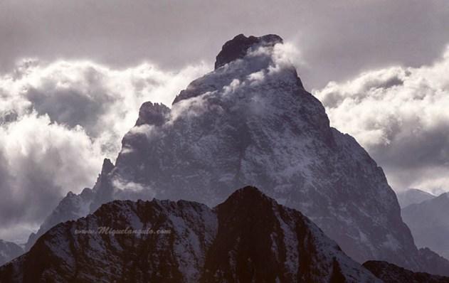 Pic du Midi d'Ossau, versant est, 1991