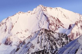 Pico del Infierno, versant ouest, 1992