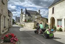 Huismes (La Loire à vélo)