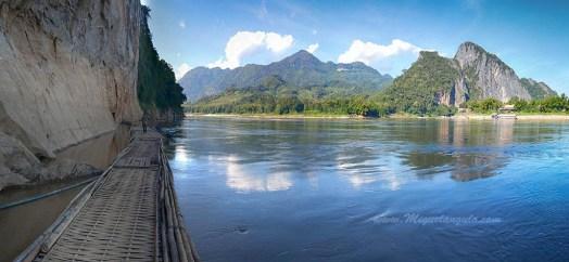 Le Mékong à Pak Ou (Laos)