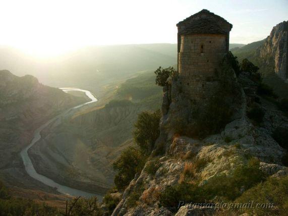 Ermita de la Pertusa (niveau de l'eau 443m)