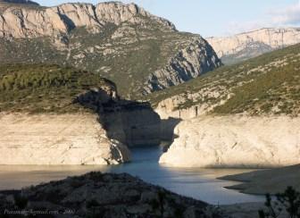 Blancafort, défilé aval (niveau 440 en 2007)