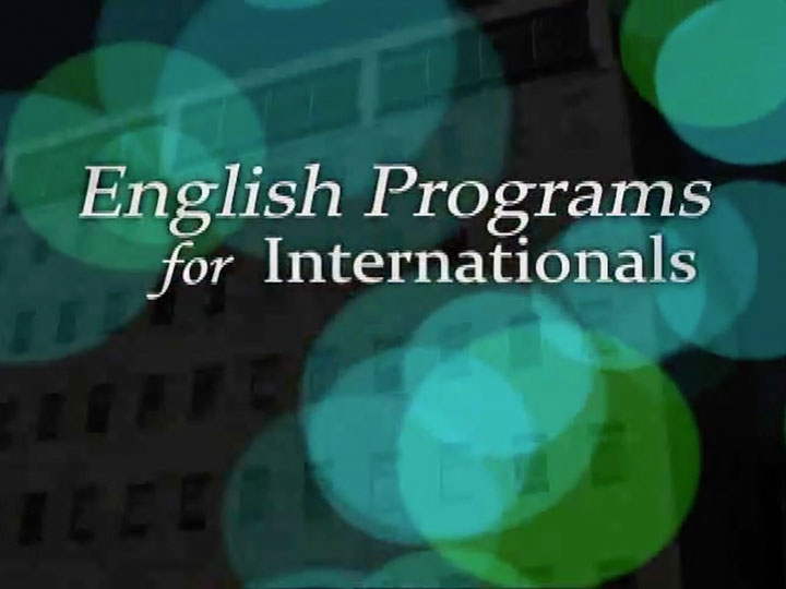 English Programs for Internationals