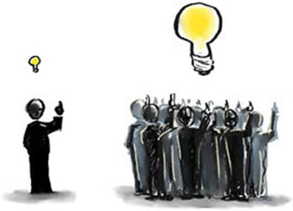 Dibujo sobre crowdsourcing