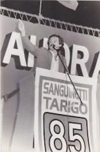 1984 - Discurso Miguel Manzi vuelta a la democracia Uruguay