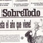 1991 - Sobretodo Semanario - Miguel Manzi columnista