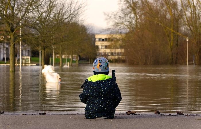 reclamar por daños de inundaciones