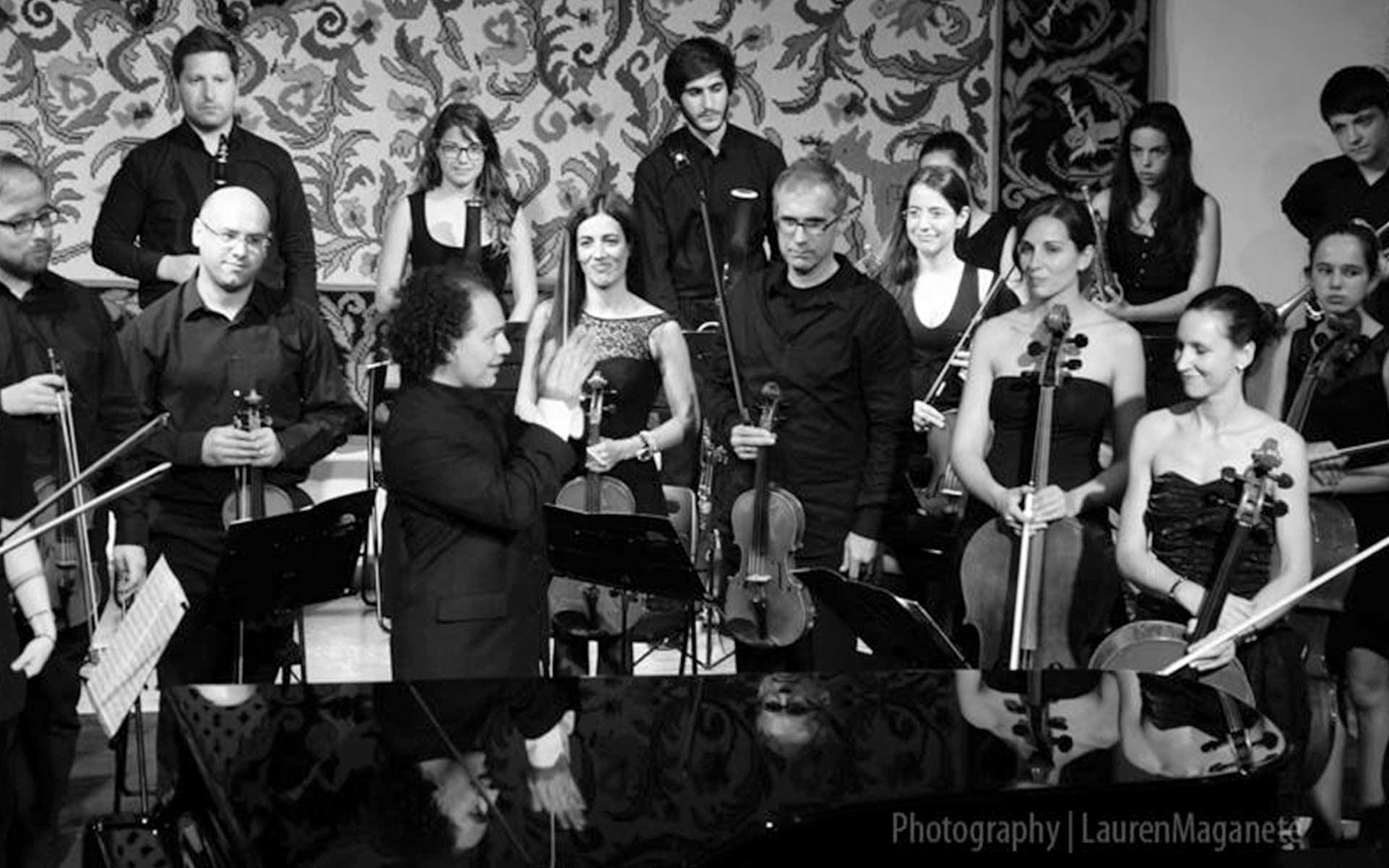 Miguel Salmon del Real dirige a la Filarmónica de Gaia