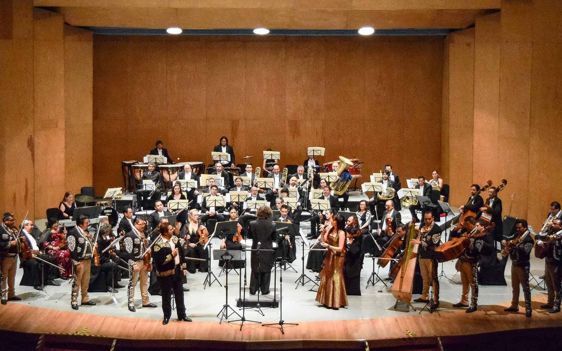 Ofrece OSIDEM concierto con mariachi