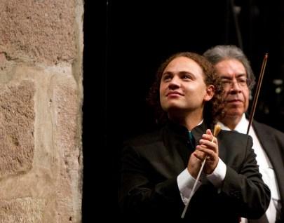 2014, Michoacan Symphony Orchestra. Teatro Ocampo, Morelia, Mich. Mexico. Photo, Ramon Merino