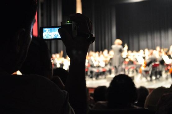 Michoacan Symphony Orchestra. Teatro Ocampo, Morelia, Mich., Mexico. Photo, Carlos Cuin Jr.