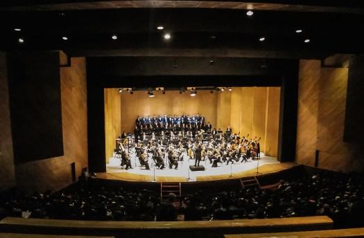 2014, Opera gala at Teatro Morelos. Michoacan Symphony Orchestra. Morelia, Mich., Mexico