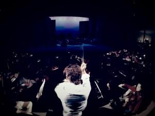 2014, OPERA CARMEN. Dress rehearsal. Teatro Obrero, Zamora, Mich., Mexico