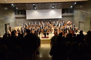 2015, Final stading ovation in Poland. Kalisz Philharmonic Orchestra, Poland