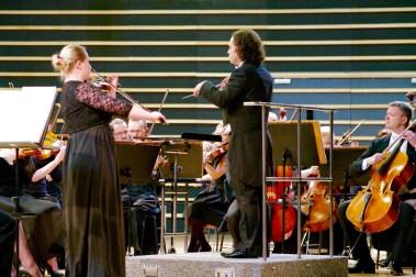 2016, Warmia and Mazury Philharmonic Orchestra, Poland. Monika Dondalska, violin