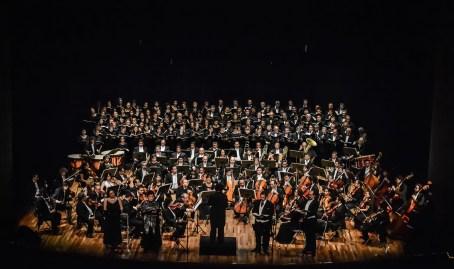 2013, Messa da Requiem Verdi. Michoacan Symphony Orchestra. Teatro Obrero, Zamora, Mich., Mexico