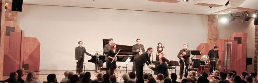 2011, Ensamble Nuevo de Mexico. Sala Manuel M. Ponce, Fine Arts Palace, Mexico City. A world premiere's program